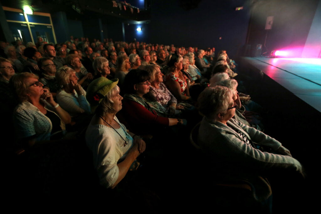 Audience enjoying a show at Middlesbrough Theatre