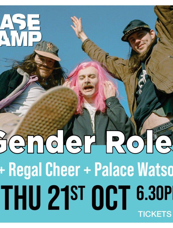Gender Roles & Regal Cheer & Palace Watson