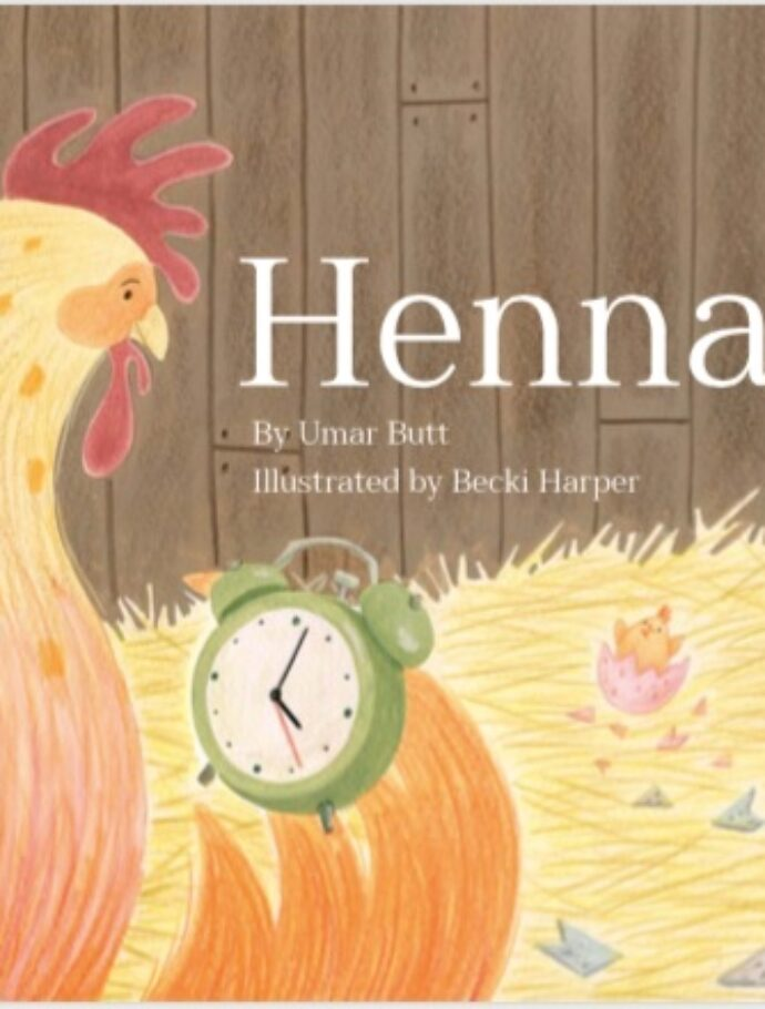 Henna: the book launch