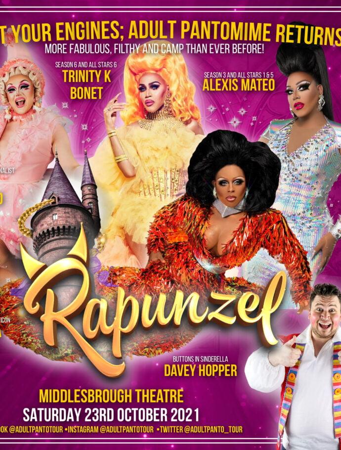 Rapunzel: the Adult Pantomime