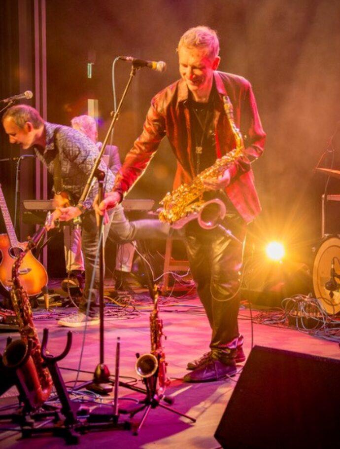 The Snake Davis Band
