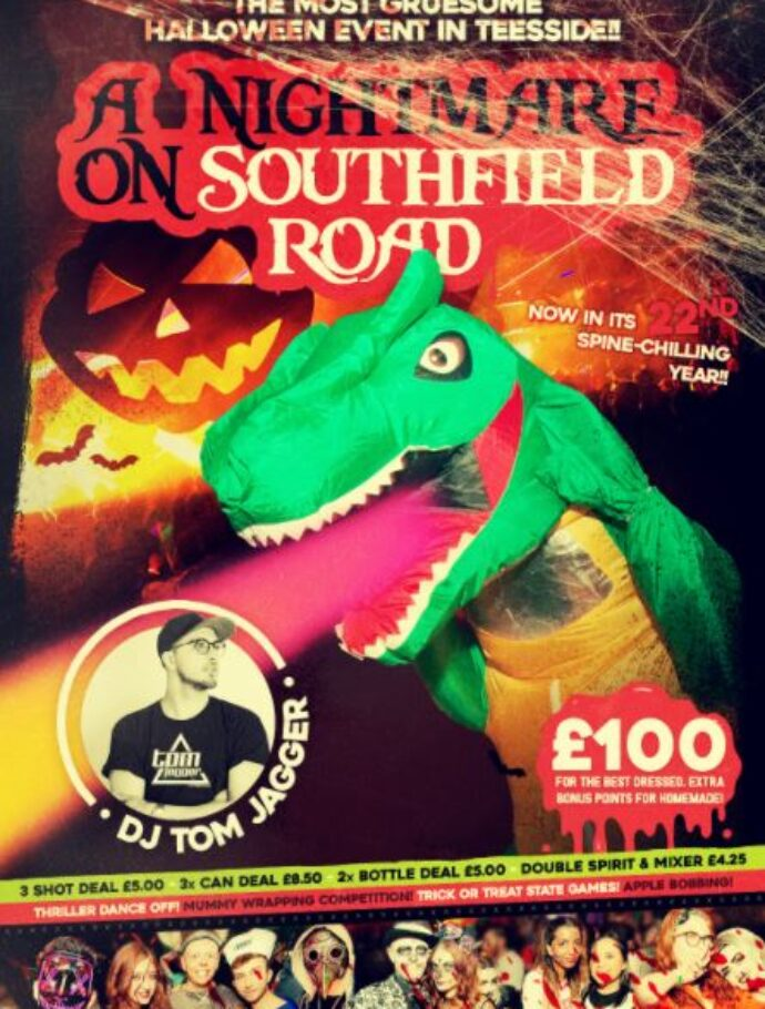 Halloween Party – A nightmare on Southfield Road