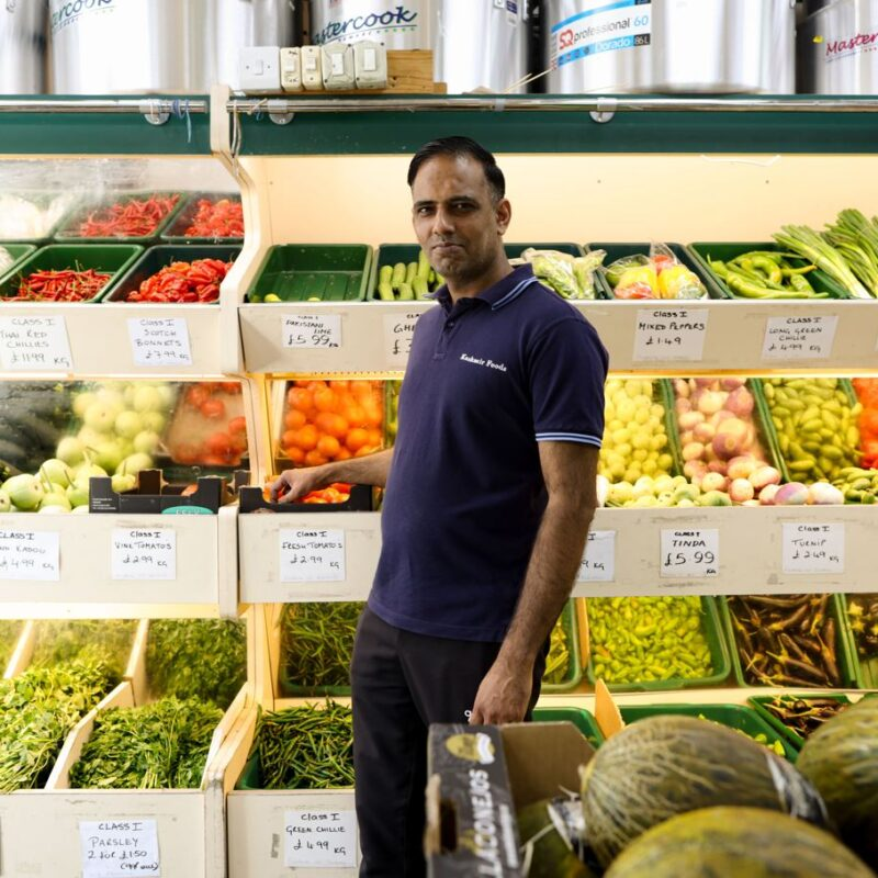 Imran's store is international – but remains at the heart of his community