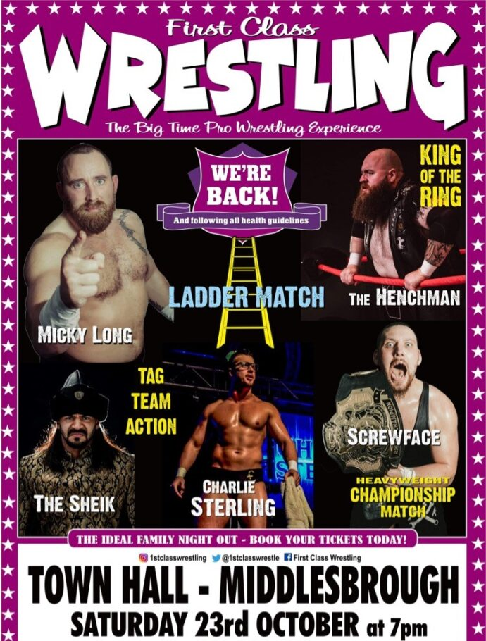 The Big Time Pro Wrestling Experience